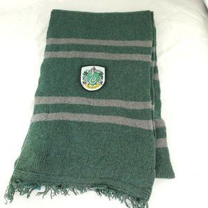 Harry Potter Slytherin Scarf 100% Lamb Wool